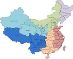 Picture of MapShapes for China