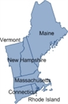 Picture of MapShapes for US: New England States