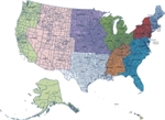 Picture of MapShapes for US: All States and Counties