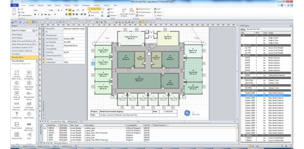 Free visio stencils shapes templates add ons shapesource for Visio network diagram templates free