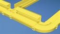 Picture of Panduit - FiberRunner 2x2 .5 inch Mounting Hardware - Top
